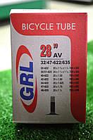 """Велосипедная камера GRL 28"""" 32/47-622/635"""