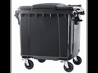 Контейнер для мусора 1100 литров плоская крышка Ese