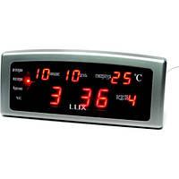 Электронные часы с будильником Caixing CX-868