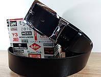 Кожаный Джинсовый Ремень Tommy Hilfiger.115 см. (Черный).