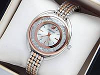Женские наручные часы Swarovski CRYSTALLINE OVAL, комбинированные, фото 1