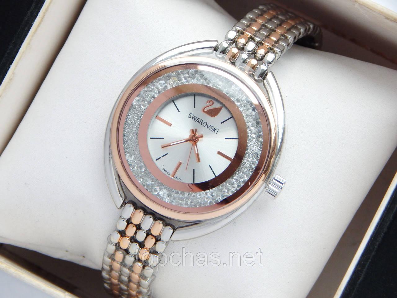 69e8eee5 Женские наручные часы Swarovski CRYSTALLINE OVAL, комбинированные - Top  Chas - Интернет магазин Вашего стиля