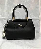 Сумка  Dior чёрная средняя