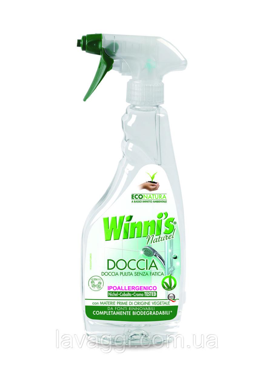 Гипоалергенное средство для мытья душевой кабины Winni's Doccia Trigger 500ml, фото 1
