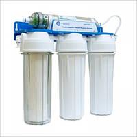Система очистки воды,четырехступенчатая система под кухонную мойку, FP3-HJ-K1 , фото 1