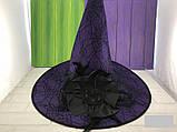 Шляпа карнавальная с розой и пером Цвета разные, фото 7