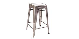 """Барный стул """"Loft stool"""" (Лофт стул). (31х31х76 см)"""