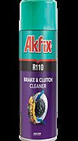Спрей для очистки колодок и сцепления Akfix R110 (500 мл)