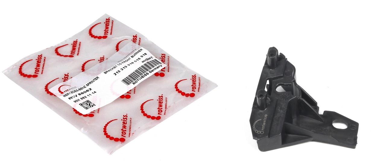 Кронштейн рамки решетки радиатора Sprinter 06- Пр. Rotweiss