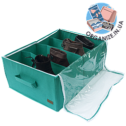 Органайзер для обуви на 4 пары ORGANIZE (лазурный)