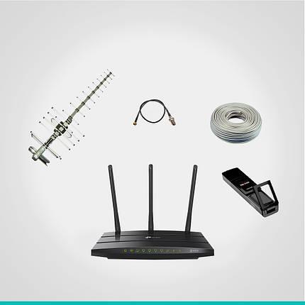 "Комплект 3G Интертелеком ""Домашний"" до 3,1 Мб/с (TP-Link 942 + Novatel 727U + антенна 17 Дб), фото 2"