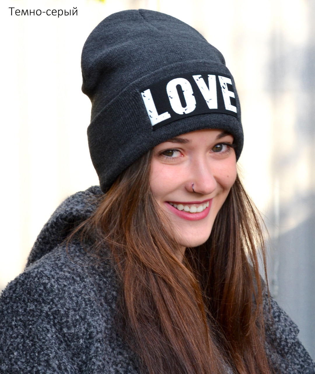 Осенне зимняя шапка для подростка девочки