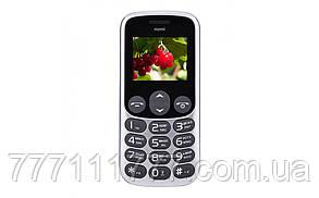 "Телефон Nomi i177 Metal Grey серый (1SIM) 1,77"" 32/32МБ+SD 0,3Мп оригинал Гарантия!"