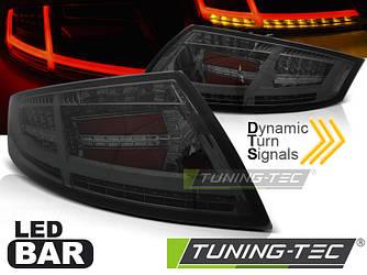 Фонари стопы диодная LED оптика Audi TT тонированные