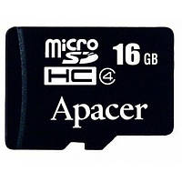 Карта памяти Apacer microSDHC 16GB Class 4 no adapter