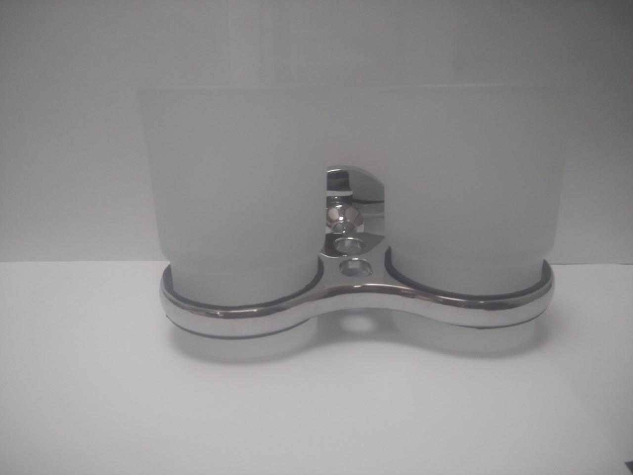 Стакан для зубных щеток двойной, ROUND 71907