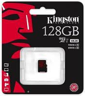 Карта памяти Kingston microSDHC 128GB Class 10 UHS-I U3 R90/W80MB/s