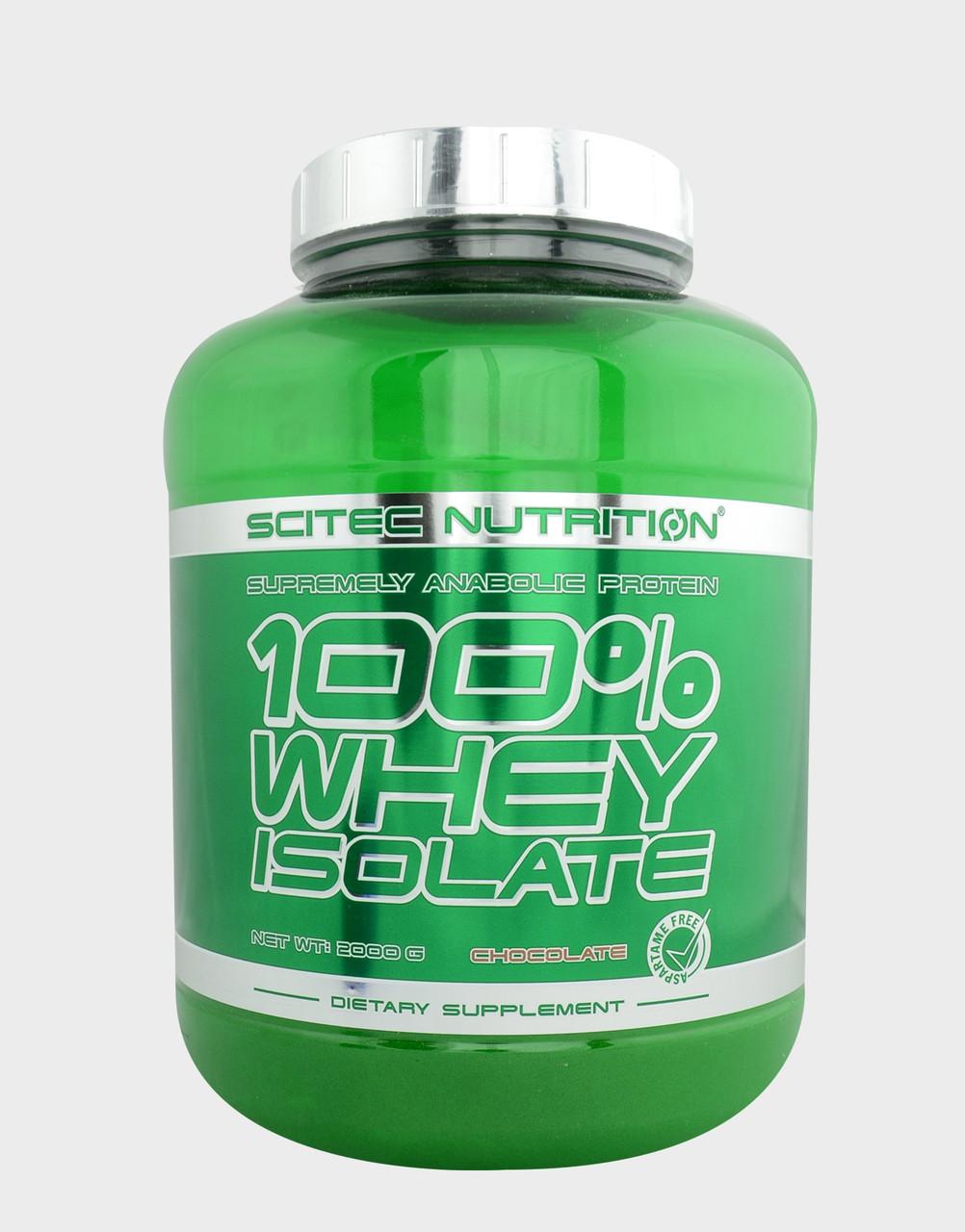 Сывороточный протеин Scitec Nutrition - 100% Whey Isolate (700 грамм)