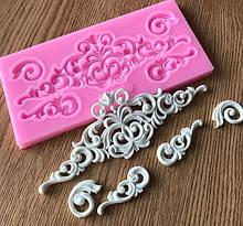 Молды и коврики для кружевных украшений из мастики