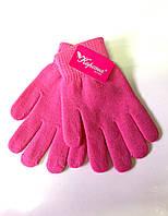 Подростковые перчатки Корона, розовые