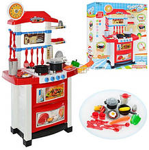 Большая детская кухня со звуком и светом  889-3 (Высота 87 см)