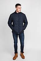 """Стёганая куртка с """"v"""" выстроченой кокеткой без капюшона и отрезными бочками (П.А.Ш.)"""