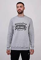 Мужской серый свитшот Urban Planet SWEAT MEL