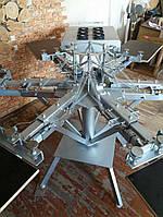 Оборудование для шелкографии, Шелкотрафаретный станок 6х6