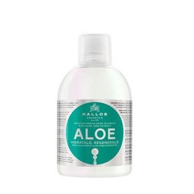 Шампунь Kallos 1000ml с экстрактом Алоэ Вера для роста и шелковистости волос 1000ml