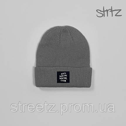 Зимняя шапка Anti Social Social Club, фото 2