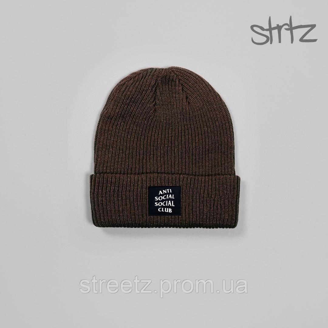 Зимова шапка Anti Social Social Club