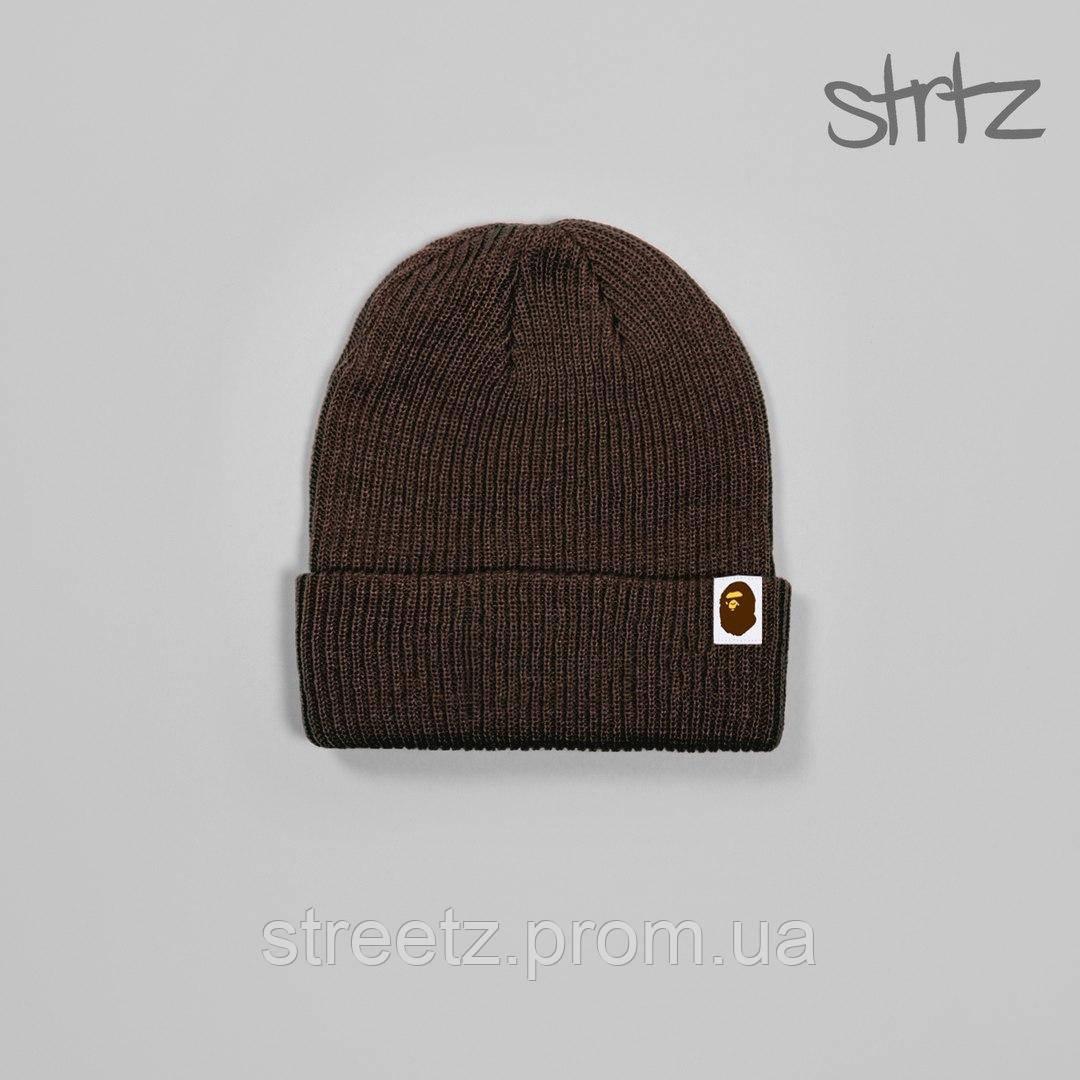 Зимняя шапка Bape / Бейп