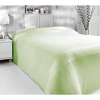 Покрывало бамбуковое вафельное Nazenin, светло-зеленое, фото 1
