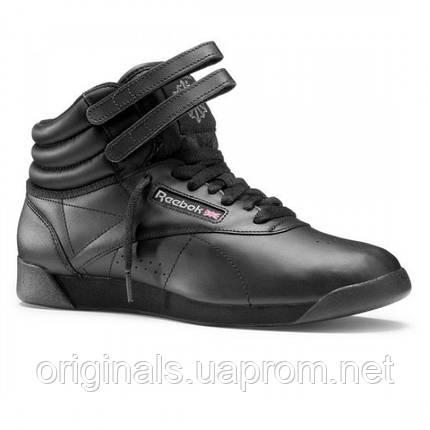 Женские кожаные кроссовки Reebok Freestyle Hi 2240, фото 2