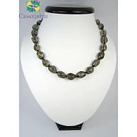 Ожерелье из топаза