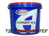 Смазка Солидол Ж-2 АГРИНОЛ (9 кг)