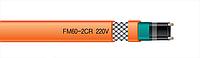 Обогрев ступеней, дорожек, площадок саморегулирующийся нагревательный кабель FM 60-2CR 60 Вт/м  E&STEC Корея