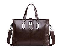 Мужская кожаная сумка. Модель 63266, фото 2