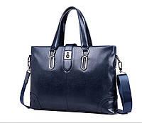 Мужская кожаная сумка. Модель 63266, фото 4