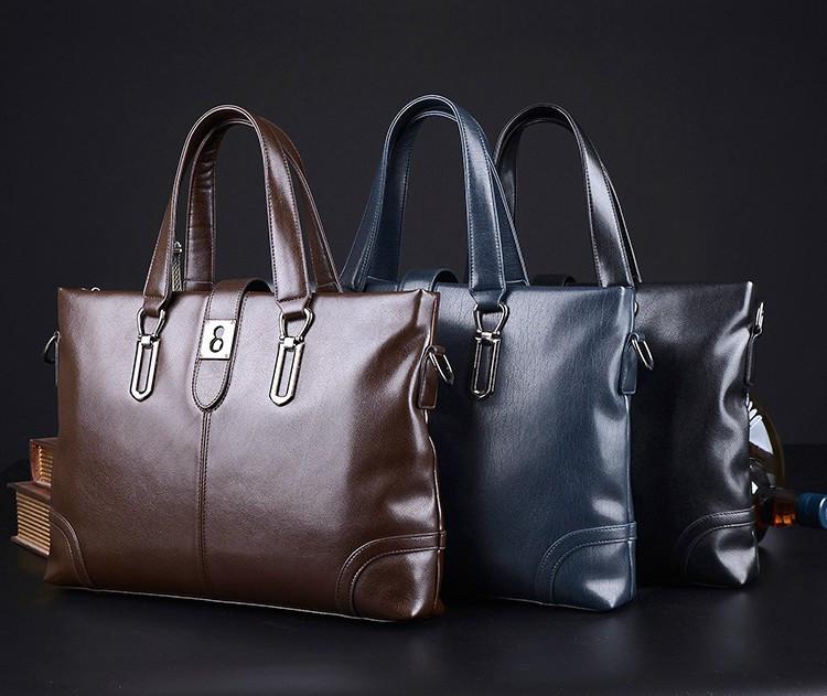 Мужская кожаная сумка. Модель 63266