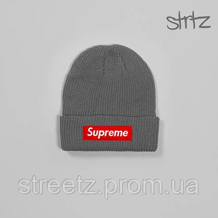 Зимняя шапка Supreme / Суприм, фото 2