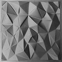 Форма из АБС пластика для 3д плитки Кристаллы
