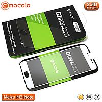 Защитное стекло Mocolo Meizu M3 Note Full cover (White), фото 1