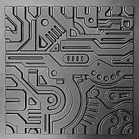 """Форма для изготовления 3D-панелей """"EX-MACHINA"""""""