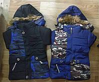 Куртки для мальчика на меху оптом,Nice Wear, 4-12 рр., арт. G-21
