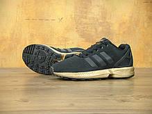 Женские кроссовки AD ZX Flux Black/Gold . ТОП Реплика ААА класса., фото 2