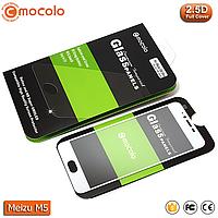 Защитное стекло Mocolo Meizu M5 Full cover (White), фото 1