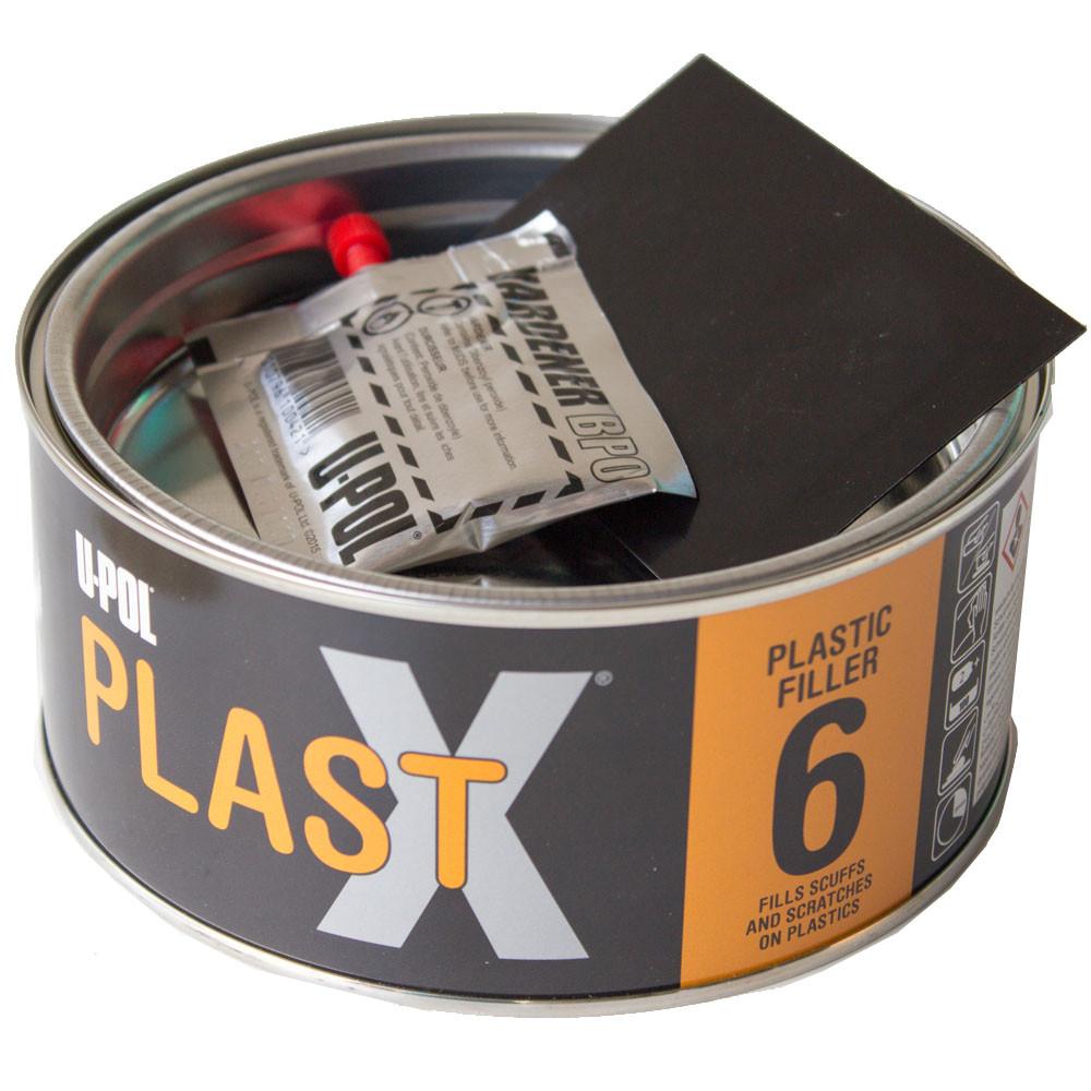 Шпатлёвка 2К для пластика U-POL PLASTX 6