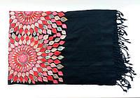 Шарф из шерсти с шелковой вышивкой. Самарканд/Узбекистан, фото 1
