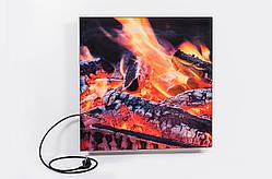 Панель горящие поленья 475 Вт керамическая КАМИН